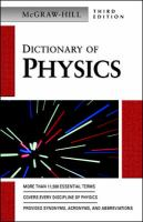 Cover image for McGraw-Hill dictionary of physics