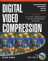 Cover image for Digital video compression