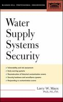 Cover image for Water supply systems security