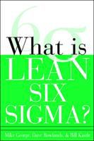 Cover image for What is lean six sigma?