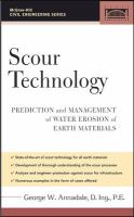 Cover image for Scour technology :  mechanics and engineering practice