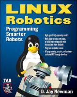 Cover image for Linux robotics : programming smarter robots