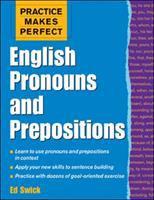 Cover image for English pronouns and prepositions