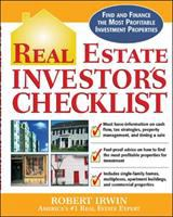 Cover image for Real estate investors checklist : everything you need to know to find and finance the most profitable investment properties