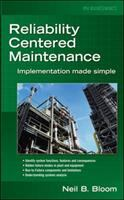 Cover image for Reliability centered maintenance (RCM) :  implementation made simple