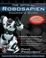 Cover image for The official robosapien hacker's guide