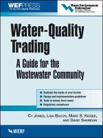 Cover image for Water-quality trading : a guide for the wastewater community