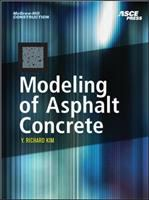 Cover image for Modeling of asphalt concrete