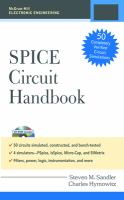 Cover image for Spice circuit handbook