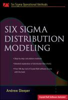 Cover image for Six sigma distribution modeling