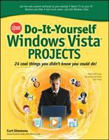 Cover image for CNET do-it-yourself Windows Vista projects : 24 cool things you didn't know you could do!