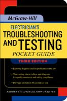Cover image for Electrician's troubleshooting and testing pocket guide
