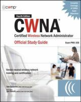 Cover image for CWNA : Certified Wireless Network Administrator Official Study Guide (Exam PW0-100)