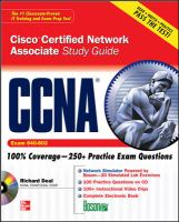Cover image for CCNA cisco certified network associate : exam 640-802