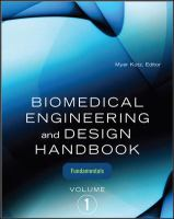 Cover image for Biomedical engineering and design handbook