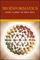 Cover image for Bioinformatics : sequence alignment and markov models