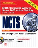 Cover image for MCTS windows server 2008 active directory services study guide (exam 70-640)