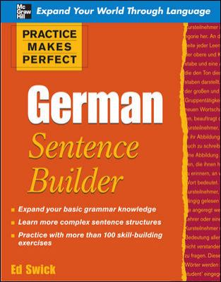 Cover image for Practice makes perfect : German sentence builder