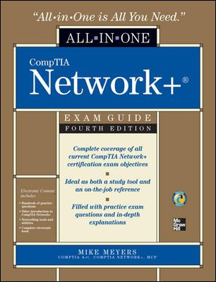 Cover image for CompTIA network+ exam guide
