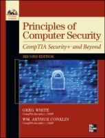 Cover image for Principles of computer security: CompTIA security+ and beyond