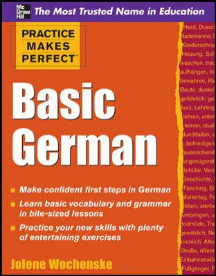 Cover image for Basic German