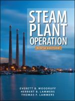 Cover image for Steam plant operation