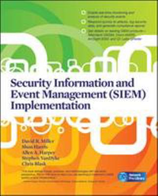 Cover image for Security information and event management (SIEM) implementation
