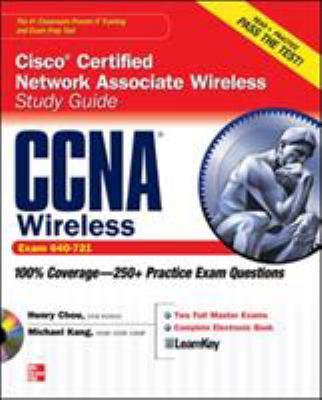Cover image for CCNA Cisco certified network associate wireless study guide (Exam 640-721)