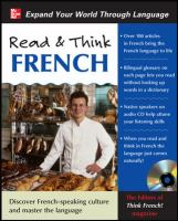 Cover image for Read & think French