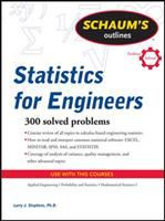 Cover image for Schaum's outlines : statistics for engineers
