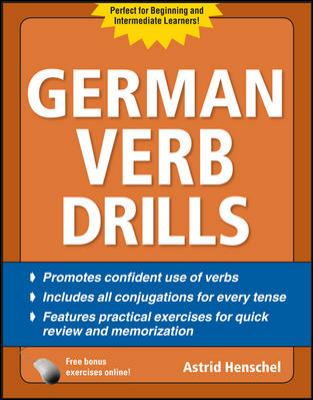 Cover image for German verb drills