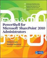 Cover image for PowerShell for Microsoft SharePoint 2010 administrators