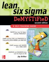 Cover image for Lean six sigma demystified