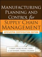 Cover image for Manufacturing planning and control for supply chain management