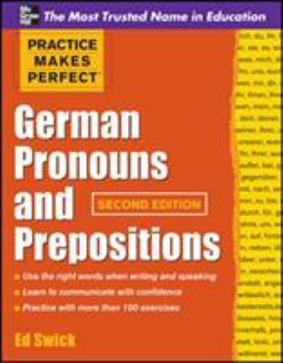 Cover image for German pronouns and prepositions