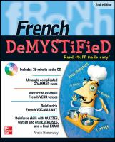 Cover image for French demystified