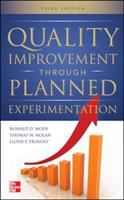Cover image for Quality improvement through planned experimentation