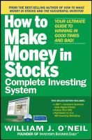 Cover image for How to make money in stocks : complete investing system