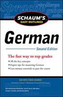 Cover image for Schaum's easy outlines German