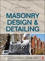 Cover image for Masonry design and detailing