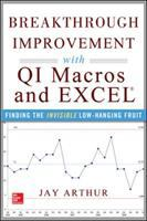 Cover image for Breakthrough improvement with QI Macros and Excel : finding the invisible low-hanging fruit