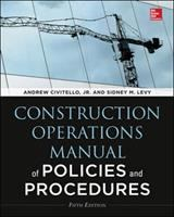 Cover image for Construction operations manual of policies and procedures
