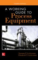 Cover image for A working guide to process equipment