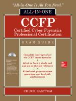 Cover image for CCFP certified cyber forensics professional certification : exam guide