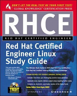 Cover image for RHCE red hat certified engineer study guide