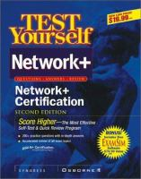 Cover image for Test yourself Network+ certification