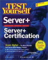Cover image for Server+ certification