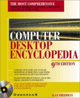 Cover image for Computer desktop encylopedia