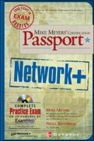 Cover image for Mike Meyers' network+ certification passport