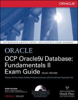 Cover image for OCP Oracle9i database : fundamentals II exam guide